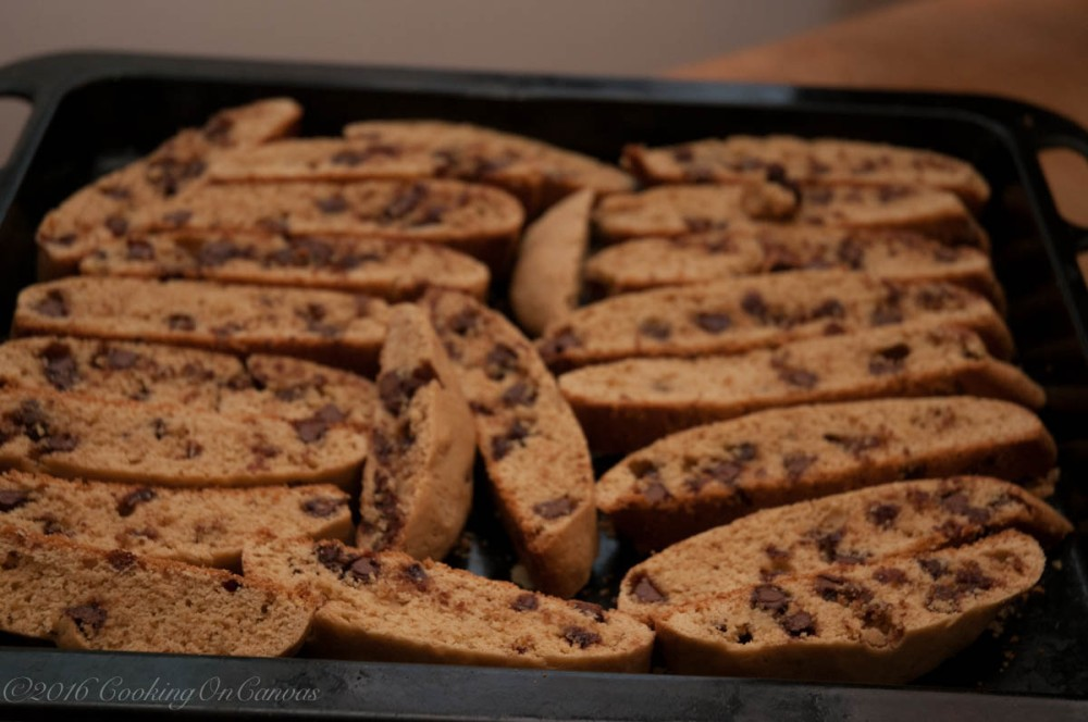 Crunchy Chocolate Biscotti Second Bake